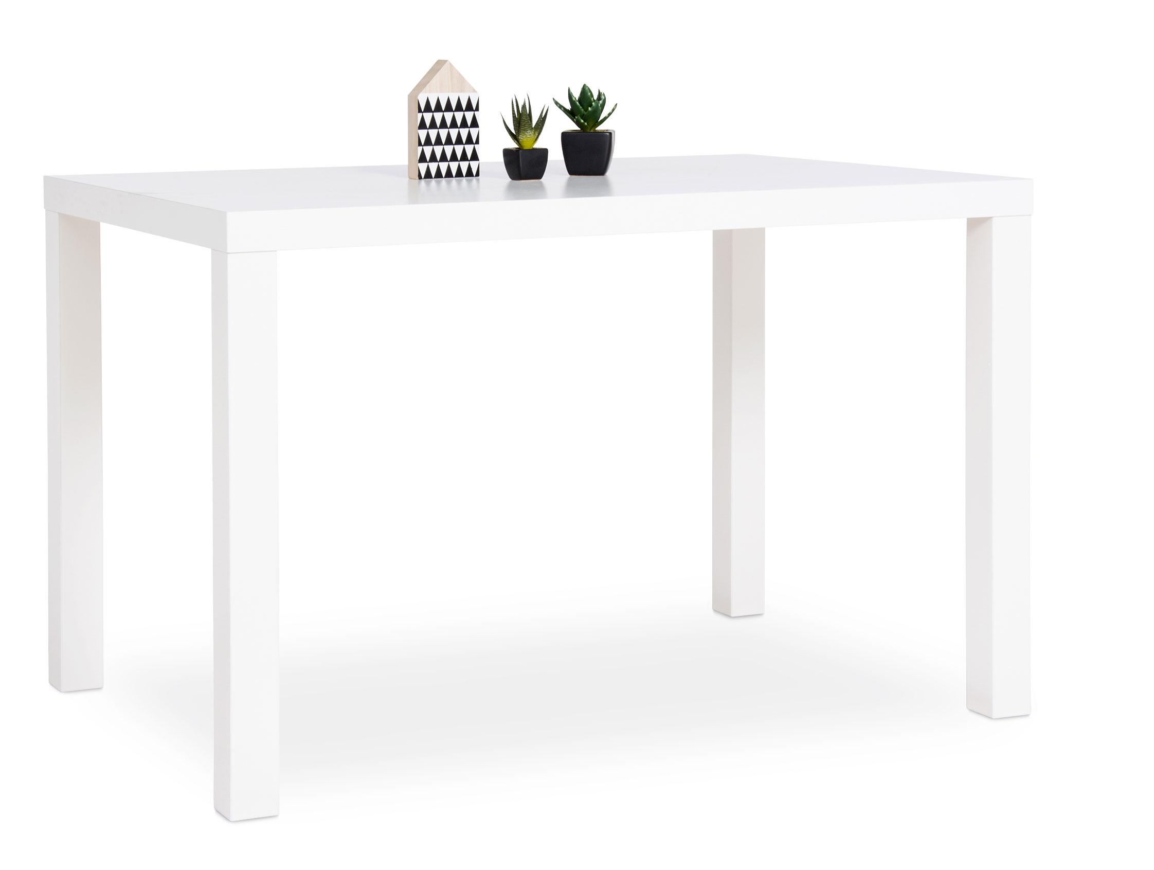 Table A Manger 120 Cm.Table De Salle A Manger Rectangulaire Design 120 Cm Coloris Blanc Clarence