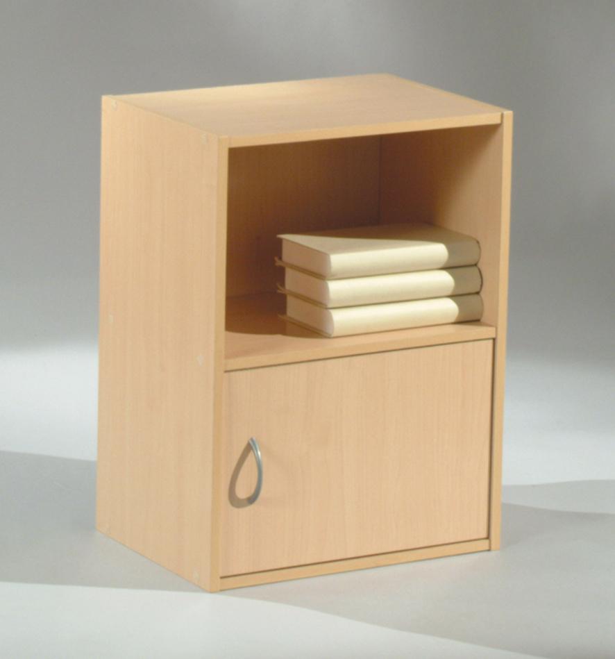 Etagère 1 casier/1 porte CLIPO