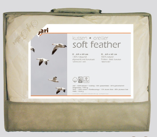 Couette naturelle Soft Feather