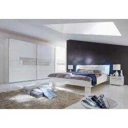 Chambre adulte design coloris blanc Raphaela II