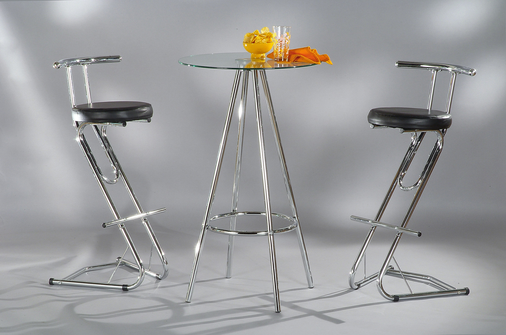 Ensemble table de bar & 2 tabourets DIAMANT