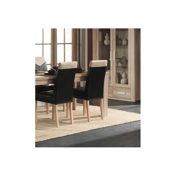 Chaise de salle à manger AMANDA (lot de 2)