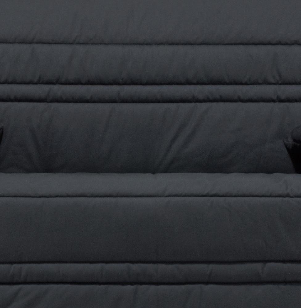 Housse BZ & 2 housses de coussins coloris noir Vista