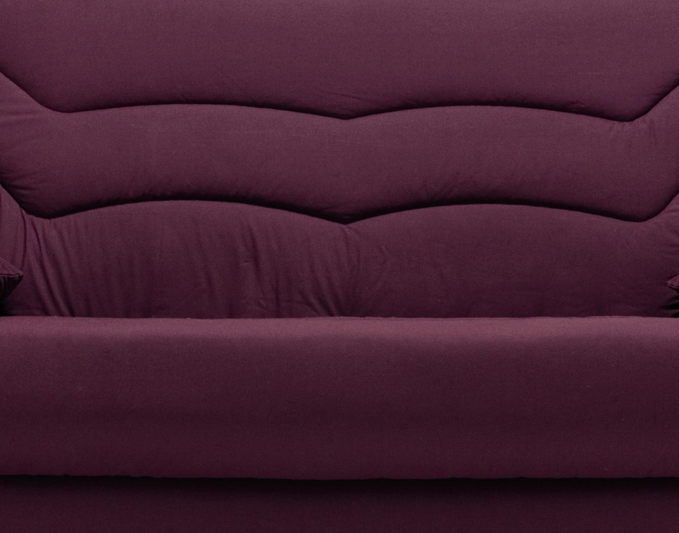 housse clic clac 2 housses de coussins coloris prune. Black Bedroom Furniture Sets. Home Design Ideas