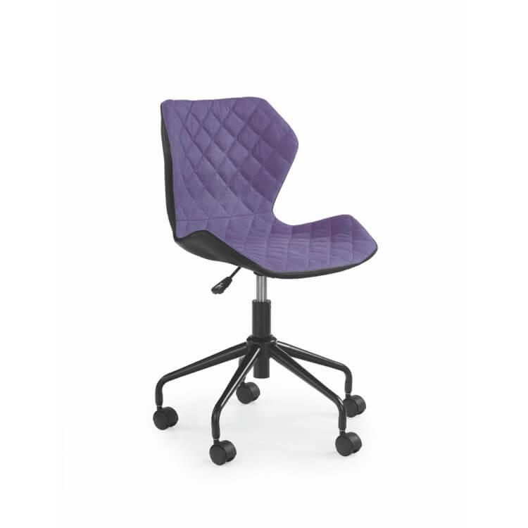 Enfant Violet Design Chaise Cadix De Bureau Tissu En q5cA43RLj