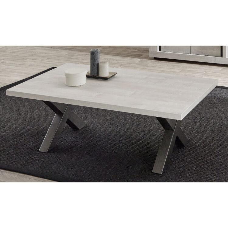 Table Basse Contemporaine Coloris Chene Clair Peter