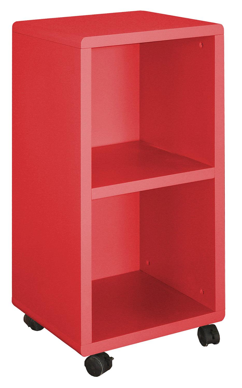 etag re sur roulettes 2 casiers cubo. Black Bedroom Furniture Sets. Home Design Ideas