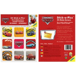 Stickers de coin CARS