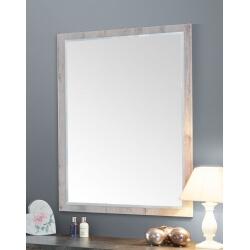 Miroir rectangulaire contemporain coloris chêne Milos