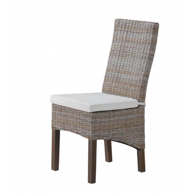 chaise de salle manger contemporaine en osier adena - Chaise Moderne Salle A Manger