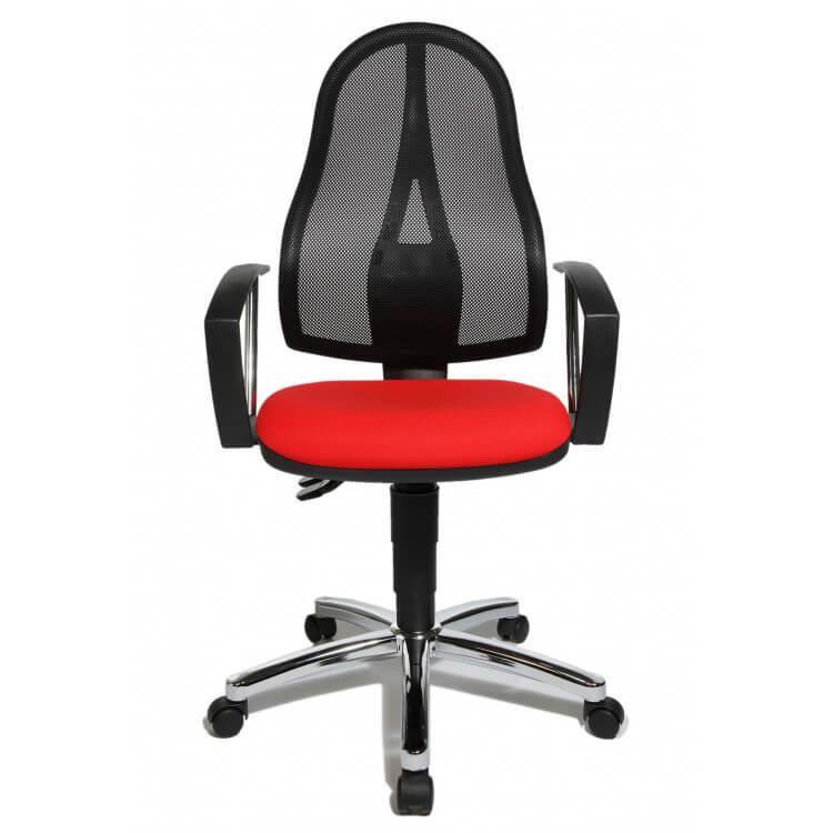 De Chaise Bureau Rouge En Tissu Seychelle Contemporaine iPXOuTkZ