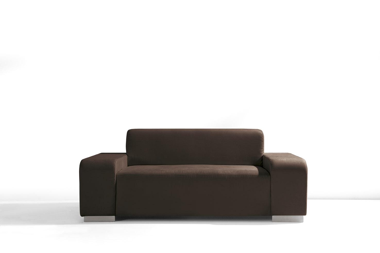 Canapé fixe 2 places contemporain en tissu Titan II