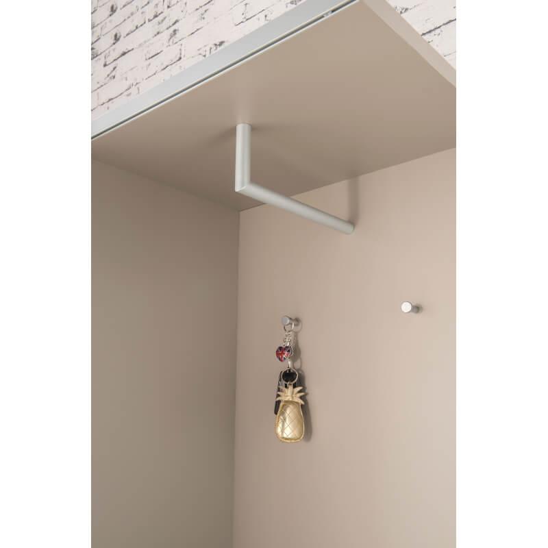 meuble d 39 entr e design gris pierre noyer rachel matelpro. Black Bedroom Furniture Sets. Home Design Ideas