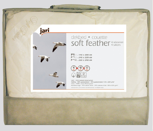 Couette naturelle Soft Feather 4 saisons