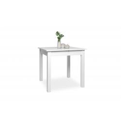 Table de cuisine extensible contemporaine blanche Halma