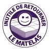 Ensemble literie mousse polyuréthane & latex NEPTUNE
