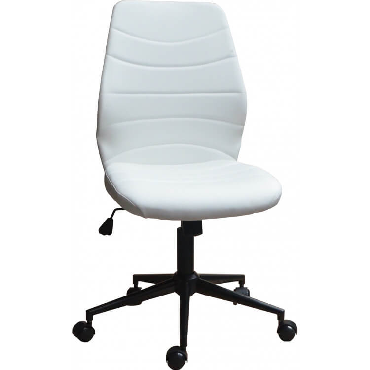 Design Blanc Chaise Gina Bureau Pu En De ymI76vYbfg