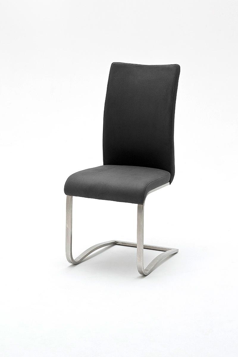 Chaise de salle à manger design en PU (lot de 2) Doris
