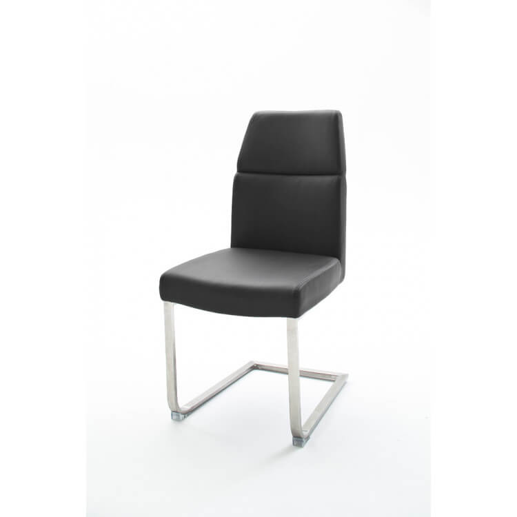 Chaise de salle à manger design en PU (lot de 2) Mickaela