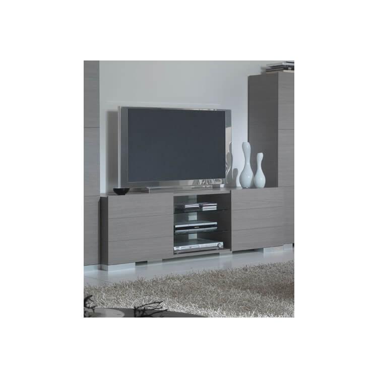 Meuble TV pour écran plasma FLORA