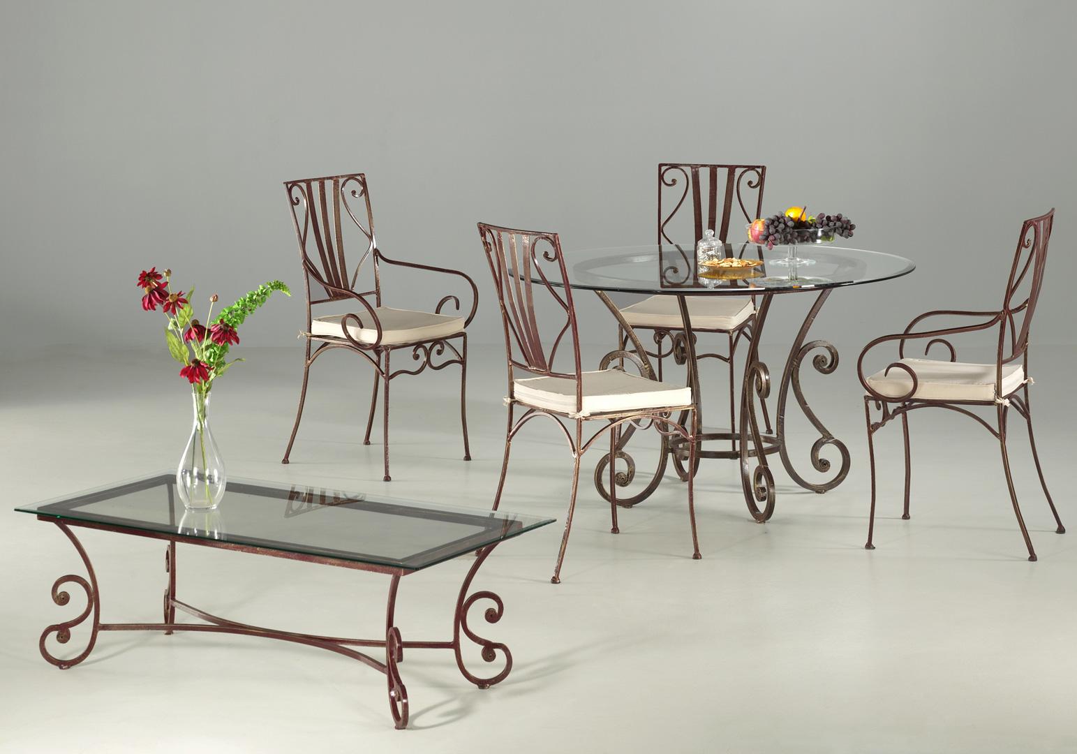 Ensemble table de salle à manger & 4 chaises ROMANCE II