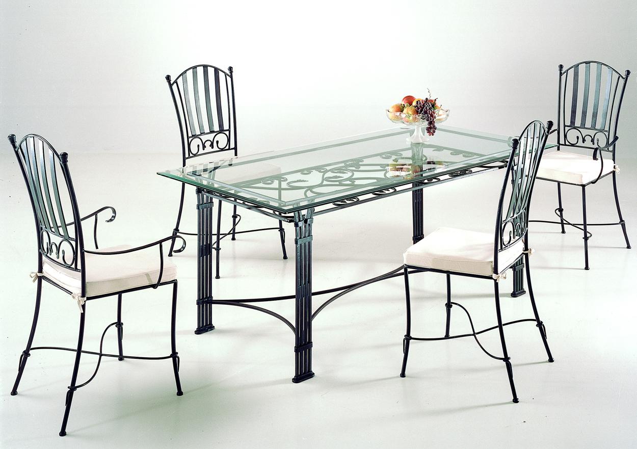 Ensemble table de salle à manger & 4 chaises VENISE