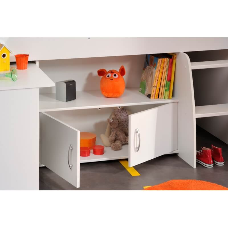 lit combin et bureau enfant milo matelpro. Black Bedroom Furniture Sets. Home Design Ideas