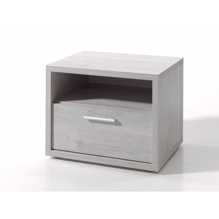 Chevet contemporain chêne grisé Victoria
