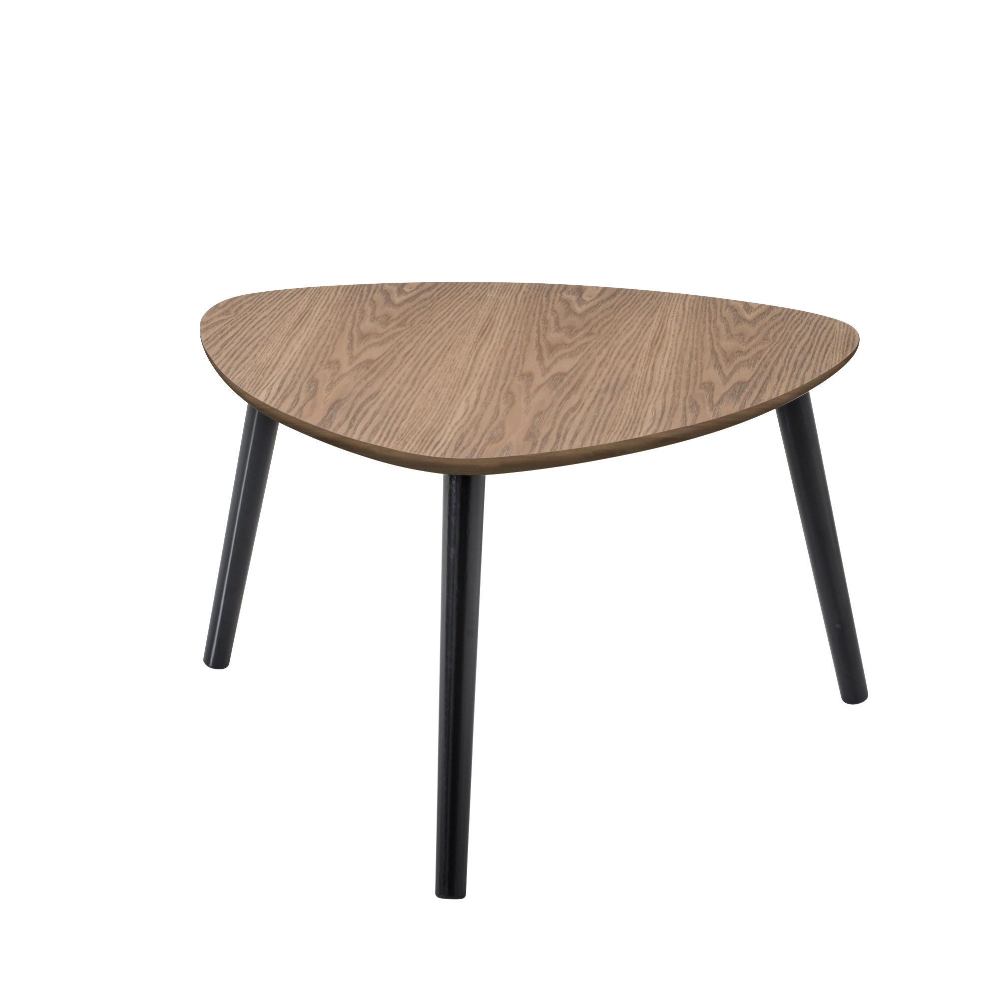 table basse triangulaire contemporaine en bois ch ne cendr chloe matelpro. Black Bedroom Furniture Sets. Home Design Ideas