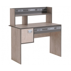 Bureau enfant contemporain gris clair/gris ombre Soft