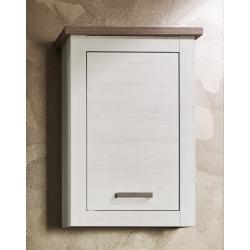 Meuble haut de salle de bain contemporain chêne blanchi Glamour