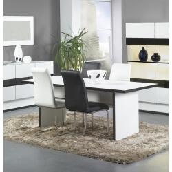 Chaises de salle à manger contemporaine coloris blanc (lot de 2) Anita