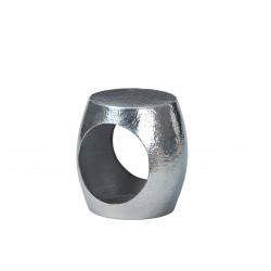 Table d'appoint ronde design en aluminium Augusta