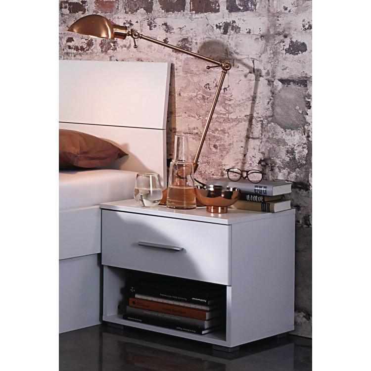 Chevet contemporain blanc Florentine