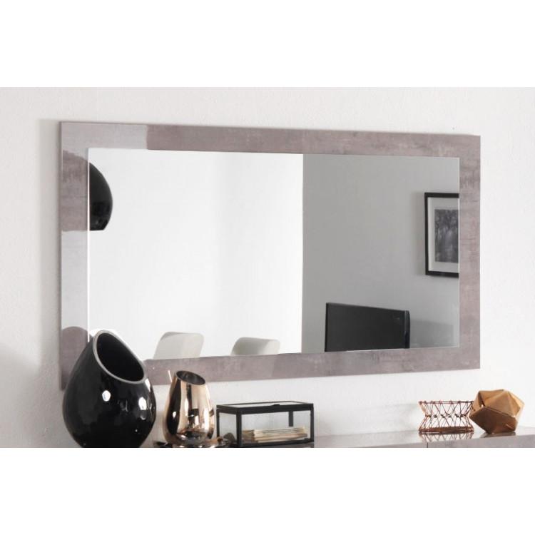 Miroir rectangulaire design laqué marbre 140 cm Clarissa