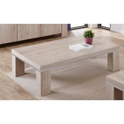 Table basse rectangulaire contemporaine chêne gris clair Arizona