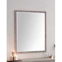 Miroir contemporain rectangulaire chêne gris Corsika