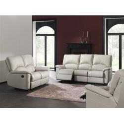 Salon de relaxation électrique cuir 3-2-1 MINOS