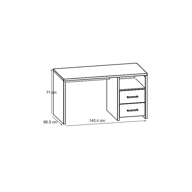 bureau contemporain ch ne clair blandine matelpro. Black Bedroom Furniture Sets. Home Design Ideas