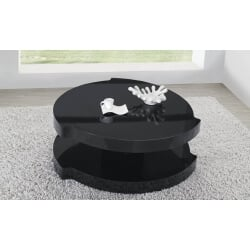 Table basse design ronde BULLE