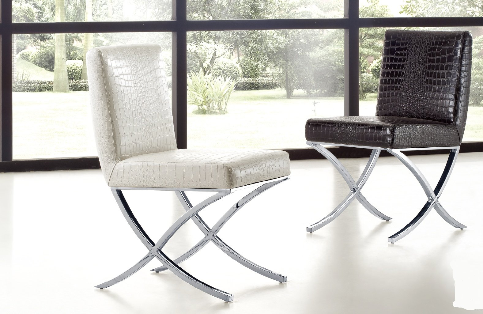 Chaise de salle à manger (lot de 2) MANUREVA