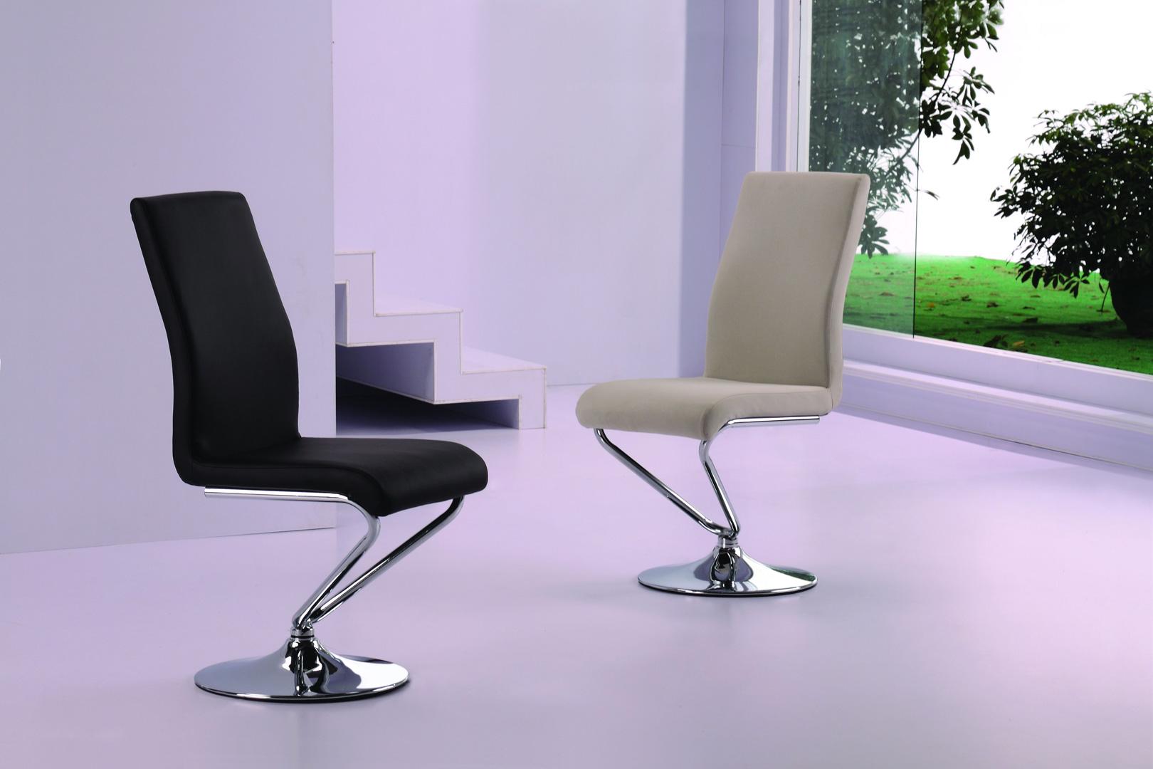Chaise de salle à manger design (lot de 4) Loana