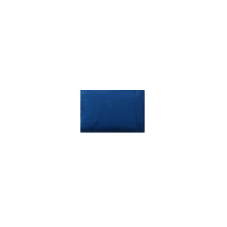 Drap housse uni bleu marine