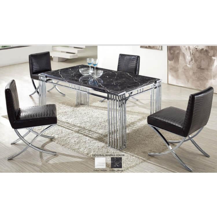 Ensemble table et chaises de salle à manger CELINA