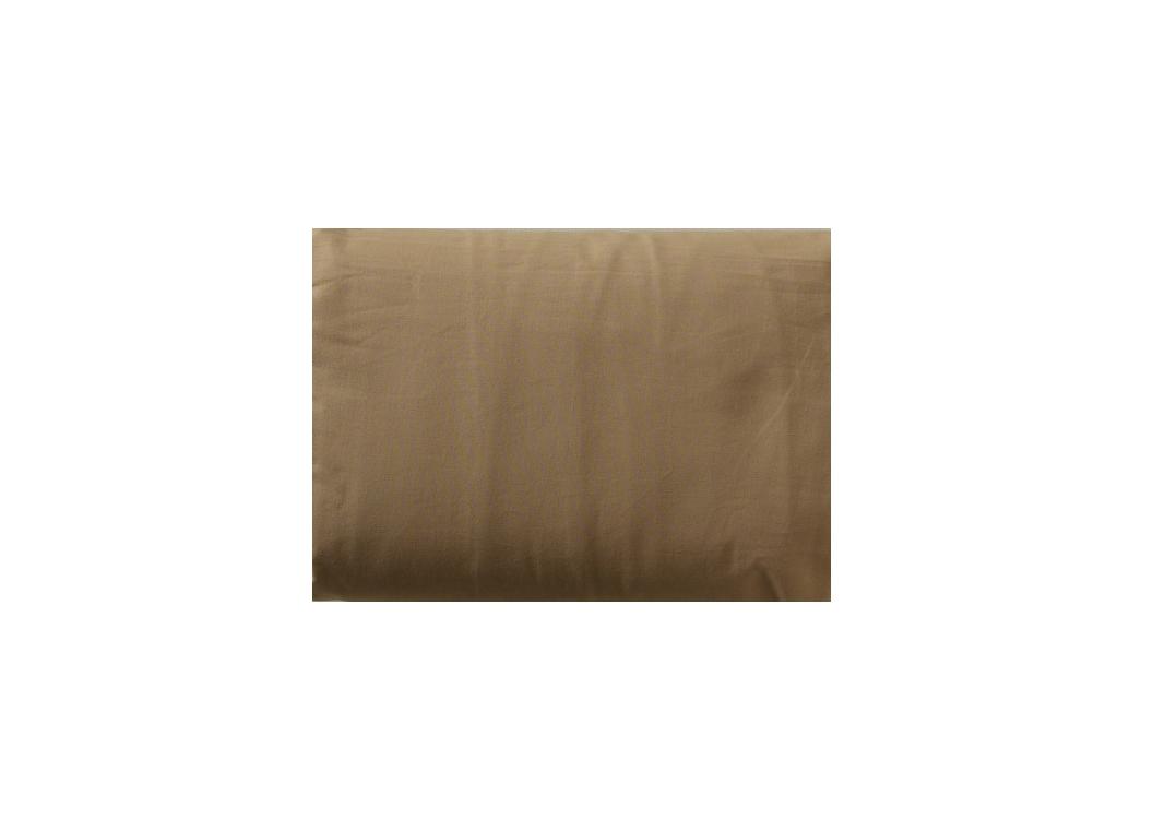 Drap housse uni sable-160 x 200 cm