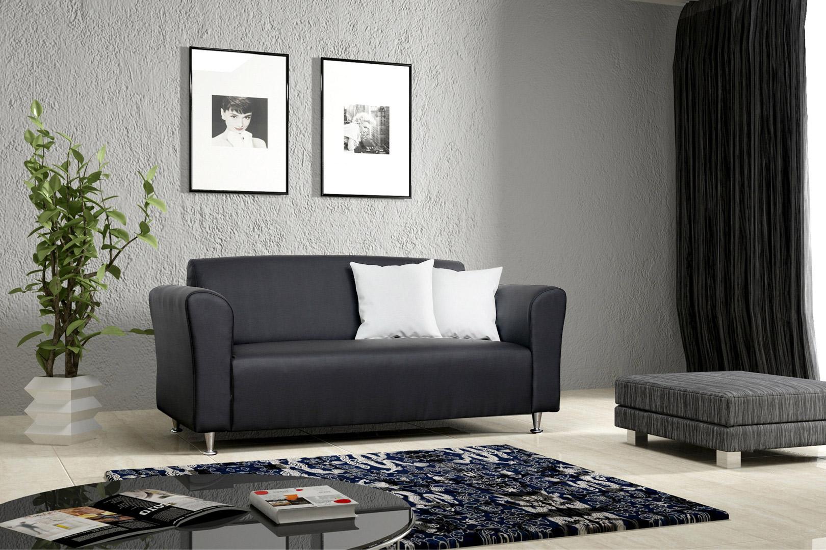 Canapé fixe 3 places LOIS