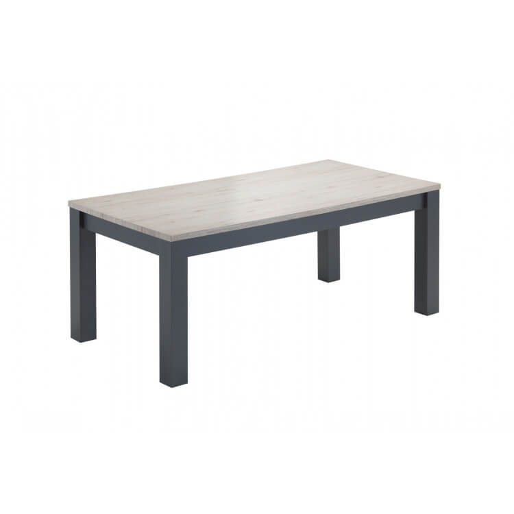 table de salle manger contemporaine coloris ch ne clair freddy matelpro. Black Bedroom Furniture Sets. Home Design Ideas
