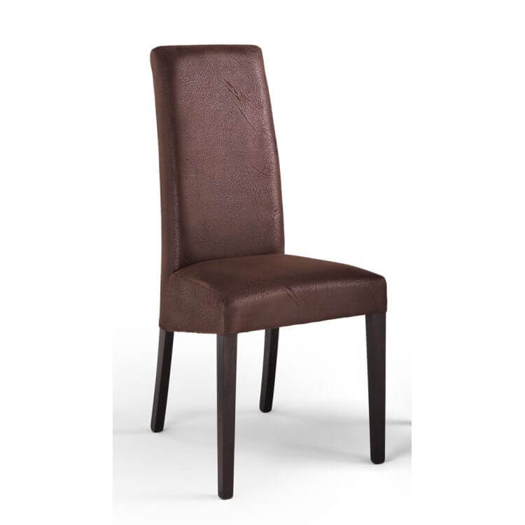 chaise de salle manger contemporaine en tissu buffalo lot de 2 adriana matelpro. Black Bedroom Furniture Sets. Home Design Ideas