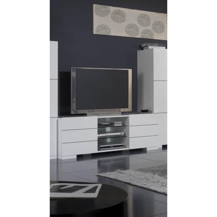 Meuble TV pour écran plasma FLORIANE