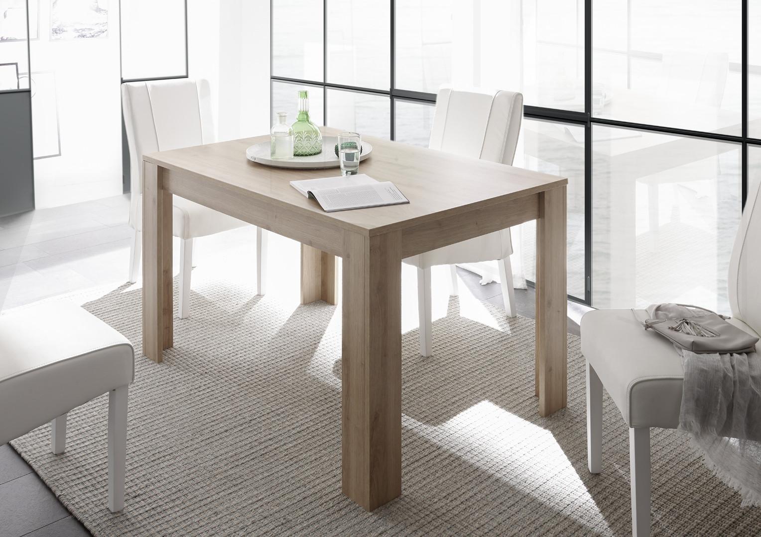 Table de salle à manger contemporaine extensible Charlie